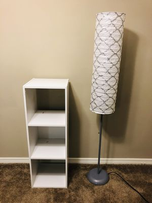 Storage and Floor Lamp for Sale in Houston, TX