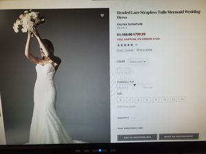 Never worn wedding dress for Sale in Scottsdale, AZ