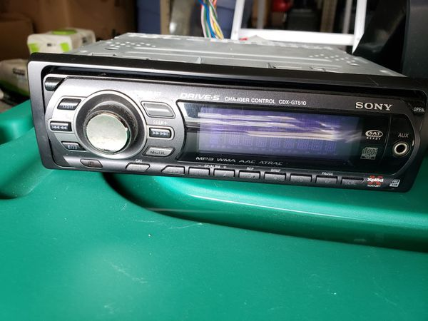 Sony cd car stereo with aux port