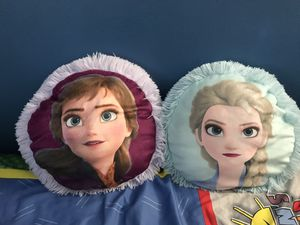 Elsa and Anna Pillow plush for Sale in Los Angeles, CA