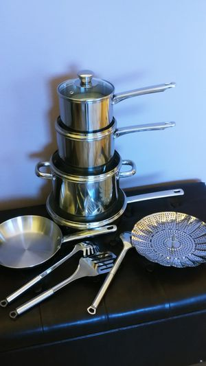 Stainless Steel 13-Pc. Cookware Set for Sale in Everett, WA
