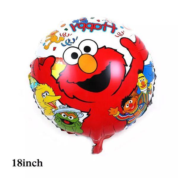 Elmo Sesame Street 10pcs Latex/Foil Balloons
