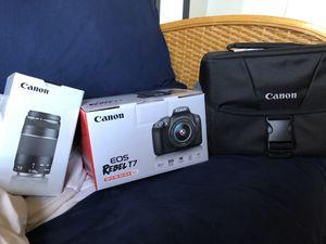 Canon Rebel t7 camera'premium kit' for Sale in Philadelphia, PA
