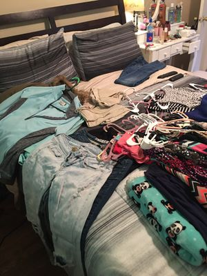 Junior clothes lot size small ! Summer dresses, cocktail dresses, summer shirts, jeans, skirts, jackets, club clothes for Sale in Whitehall, OH