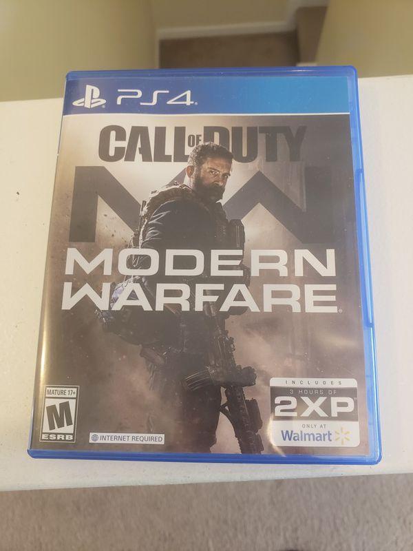 PENDING**PS4 Call of Duty Mondern Warfare