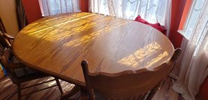 Kitchen table with 2 head chairs for Sale in Lincoln, NE