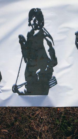 Norman reedus steel silouette for Sale in Poca, WV