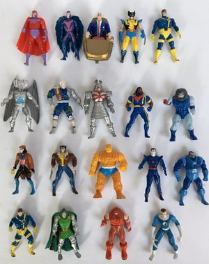 Toy Biz 1990's Marvel heavy metal X-Men Mutant die-cast action figures for Sale in Lake Forest, CA