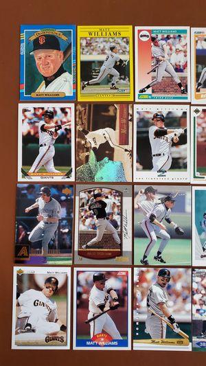 Baseball Cards - Matt Williams for Sale in Noblesville, IN