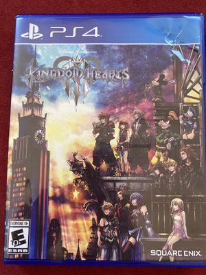 Kingdom Hearts III PS4 Game Cartridge for Sale in Cary, IL