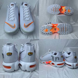 NIKE AIR MAX PLUS TN SE TOTAL ORANGE MENS SIZE MERCURIAL 10 RUNNING SHOES (MAKE OFFER) for Sale in Euless, TX