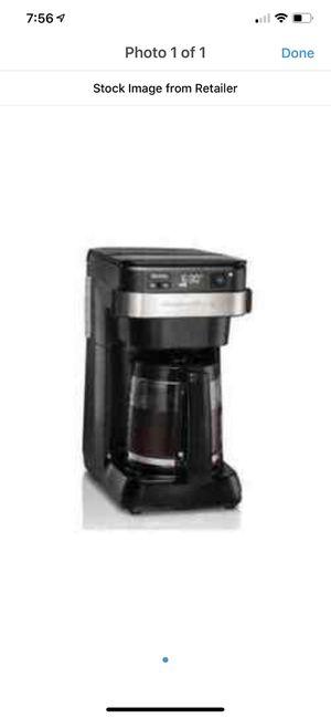 Hamilton beach 12 cup programmable coffee maker -black for Sale in North Port, FL
