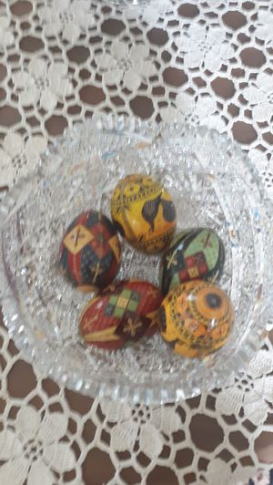 Hand painted Russian Easter eggs for Sale in Pinellas Park, FL