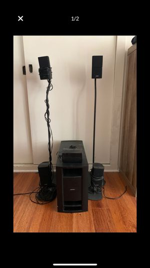 BOSE ps28iii powered speaker system with receiver for Sale in Los Angeles, CA