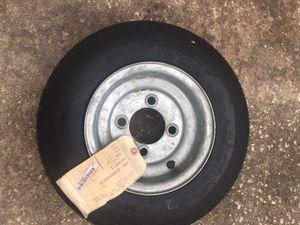 4.8-8 (4 lug) Trailer Tire Brand New for Sale in Odessa, FL