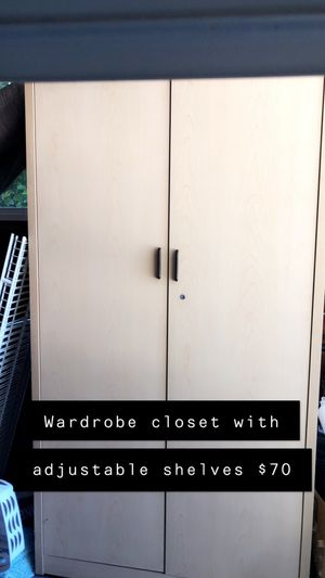 Wardrobe closet for Sale in Salem, OR
