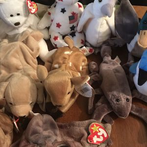 Lot Of 12 Original 1999 TY beanie babies for Sale in Milford, CT