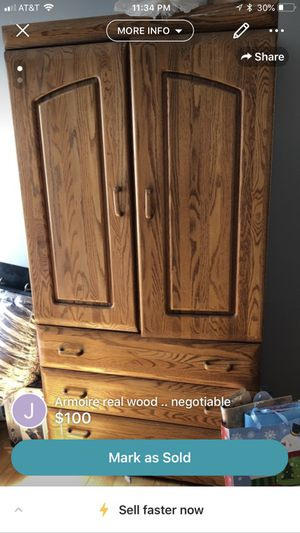Armoire for Sale in Bedford Park, IL