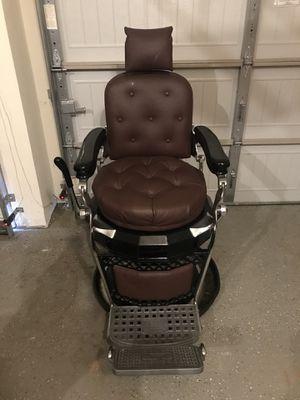 Emil J. Paidar barber chair for Sale in Cumming, GA