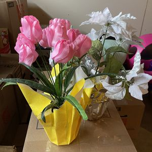 2 Artificial Potted Plants for Sale in Suisun City, CA