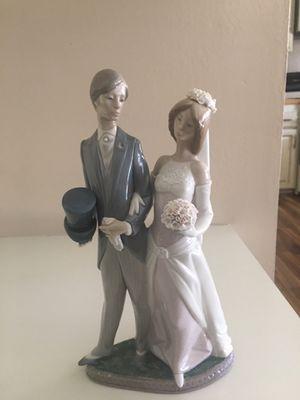 Lladro figurine 1404 wedding bride and groom for Sale in Riverside, CA