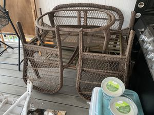 Used wicker set for Sale in Reading, PA