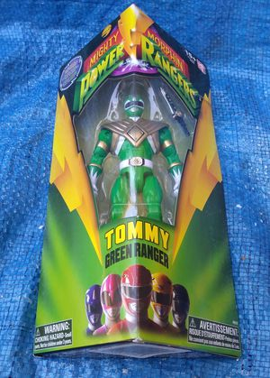 2016 Mighty Morphin Power Rangers Green Ranger Tommy Action Figure MIP Bandai 2016 for Sale in Pasadena, CA