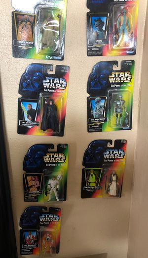 1995 Star Wars collectible action figures for Sale in Modesto, CA