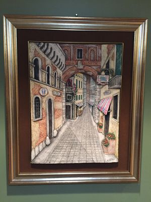Signed, Framed & Certified Art from Italy! for Sale in Des Plaines, IL