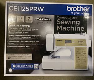 Brother CE1125PRW Computerized Sewing Machine New for Sale in Raleigh, NC