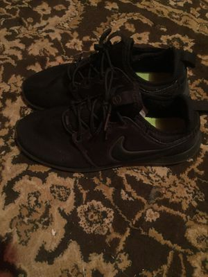 Nike all black shoes for Sale in Seattle, WA