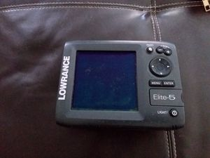 Lowrance Elite-5 for Sale in Hollywood, FL
