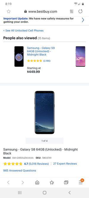 Samsung galaxy s8 plus for Sale in Bellevue, TN