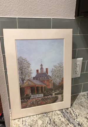 12x16 The Governors Palace Gardens Photo/ painting for Sale in Dallas, TX