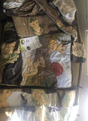 Lion King crib set for Sale in Phoenix, AZ