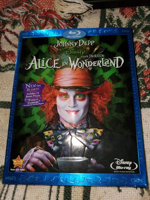 Alice in Wonderland Bluray with Bonus Features for Sale in Memphis, TN