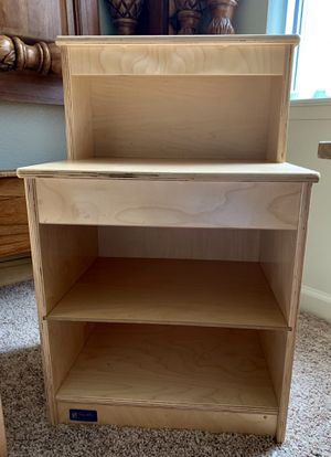 Small Shelf/Steffy Wood Toddler Hutch for Sale in Clarksville, TN