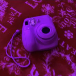 Instax Mini 7s (purple) for Sale in Stockton,  CA