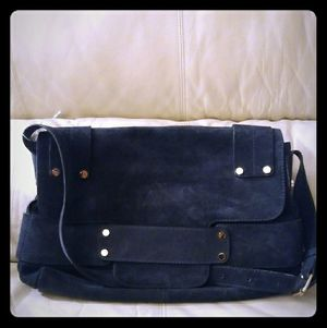 Tila Marsh gorgeous blue suede bag! for Sale in Queens, NY