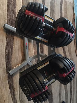 Bow flex weights for Sale in Thornton, CO
