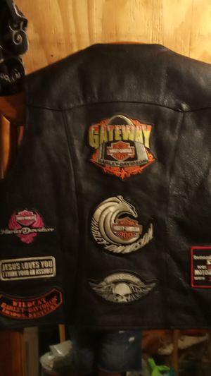 Women's leather motorcycle vest for Sale in Oceanside, CA