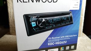 KENWOOD New KDC-HD262U HD RADIO w CD and USB interface for Sale in Willow Grove, PA