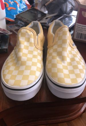 White/yellow Vans for Sale in St. Louis, MO