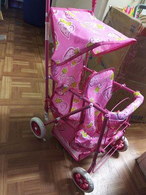 Little girls doll double stroller for Sale in Lake View Terrace, CA