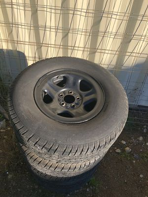 5x114.3 (5x4.5) Wheels with tires for Sale in Tacoma, WA