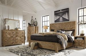 [SPECIAL] Grindleburg Ligght Brown Platform Bedroom Set for Sale in Fairfax, VA