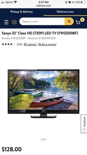 "32"" Sanyo TV for Sale in Gilbert, AZ"
