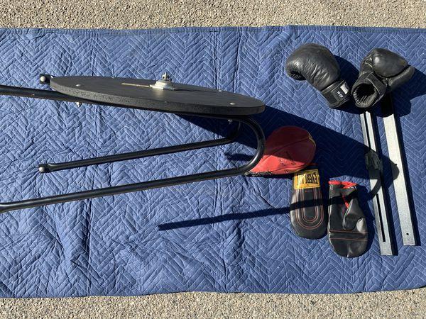 Everlast Speed bag + other exercise equipment