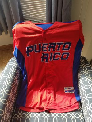 """Javier Baez""""El Mago"""" Puerto Rico World Baseball Classic Jersey for Sale in Chicago, IL"""