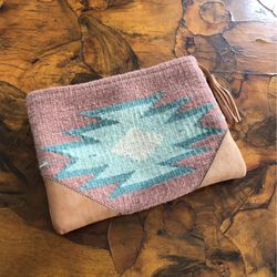 Handmade Wool Tapestry Pouch for Sale in Vernon,  CA